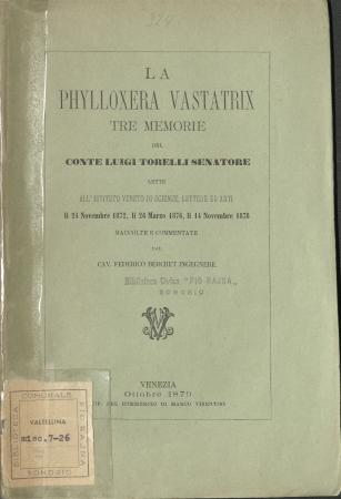 La Phylloxera Vastatrix