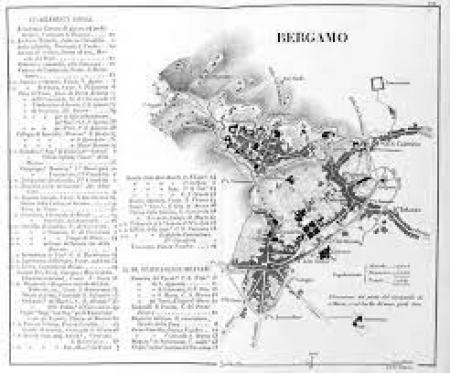 Piante delle città capiluoghi delle provincie del Regno Lombardo Veneto che mostrano la situazione dei principali stabilimenti civili e militari in esse esistenti