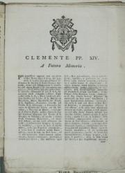 Clemente pp. 14. A futura memoria