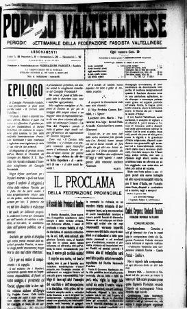 Il Popolo Valtellinese